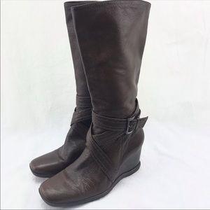 Antonio Melani casual leather boots size 6.5